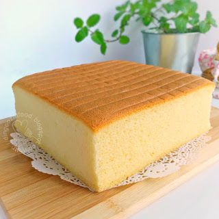 Miki's Food Archives : Basic Moist Sponge Cake aka Ogura Cake 原味相思蛋糕