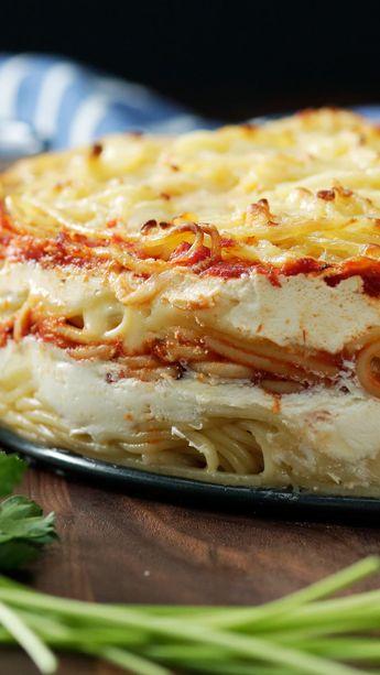 Spaghetti Layer Cake