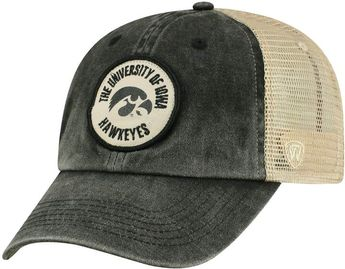 5f2a0affe8c Top of the World Adult Iowa Hawkeyes Keepsake Adjustable Cap