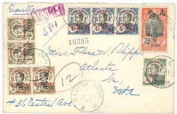 CANTON : 1922     Dealer  Lugdunum    Auction  Minimum Bid:  180.00EUR