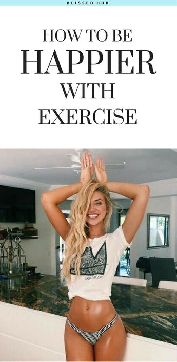 8 ways you can become a happier person with exercise!