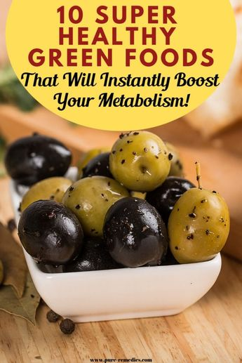 10 Super Healthy Green Foods That Will Instantly Boost Your Metabolism!