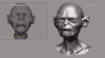 Making of - Gollum - The Hobbit An Unexpected Journey by Weta Digital
