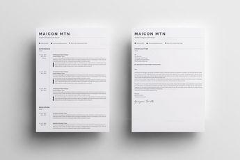 Classic Professional Resume - Graphic Templates