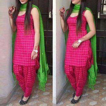 ccbb17ea9c ... Gray Georgette Salwar Kameez 1103 1300 taka call 01798078368. Cotton  Self Design Plain Patiala Suit (Pink)