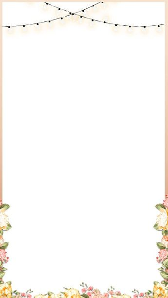 Elegant Rose Gold Spring Floral Wedding Snapchat Filter