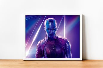 Infinity War - Nebula Avengers Karen Gillan. Print Superhero, Avengers, Wall Art Home Decor Print Gift For Him Marvel Comics