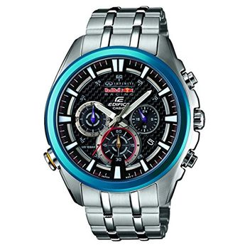 ed6e0964c59 Women s Wrist Watches - Casio EFR537RB1AER Mens Edifice Red Bull Racing  Collection Black Silver Watch