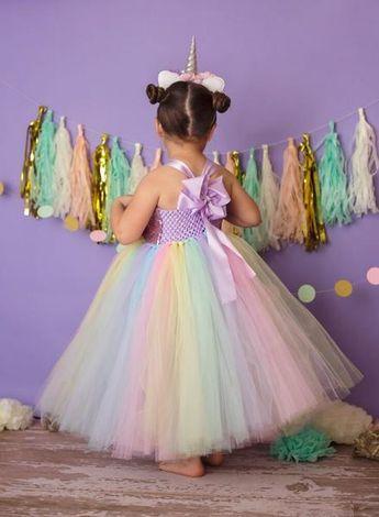 23db63989d67 Unicorn Tutu, Unicorn Birthday Dress, Girls Unicorn Costume, Unicorn  Photography Prop Dress