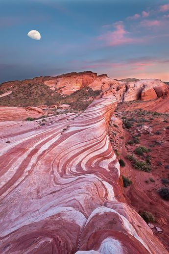 Fire Wave Sunset @ Valley of Fire State Park