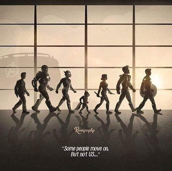 Bazı insanlar devam eder. Ama biz değil... #avengersendgame