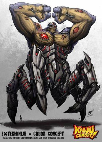 ckc_monster_list:exterminus [Colossal Kaiju Combat Information Wiki]