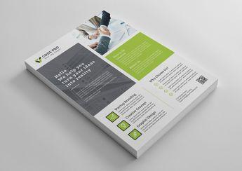 Salamanca Creative Business Flyer Design Template - Graphic Templates