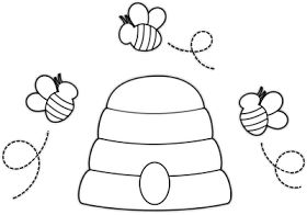 Arı Kovanı Duvar Süsü Kalıplı önce Okul öncesi Ekibi Foru