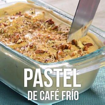 Pastel de Café Frío