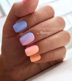10,381 Likes, 59 Comments - Cute and Beauty Ombre Nail Design ideas for This Year 2019
