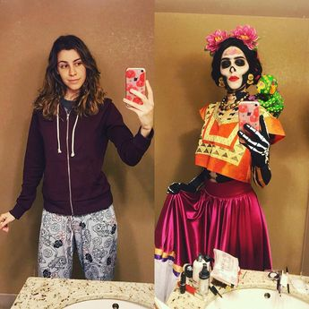 DIY Coco Frida Kahlo Costume