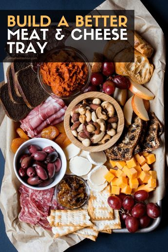 Wow your friends and family when you follow these expert tips to Build a Better Meat and Cheese Tray. #appetizers #entertaining #partyfood #easyappetizers