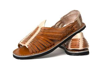 (Raw & Rustic) Men's Generic Pachuco Huarache Sandals - Combo