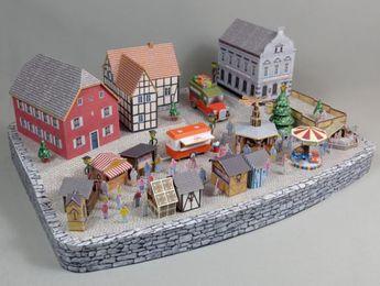PAPERMAU: Christmas Time - Rheinallee Christmas Market Paper...