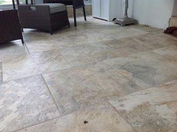 Daltile Folkstone Sandy Beach 18 In X Beige Porcelain Floor Tile