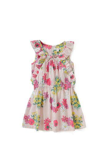 Frill Floral Dress