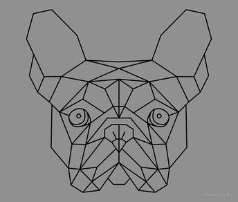 French Bulldog Geometric by Streethunter