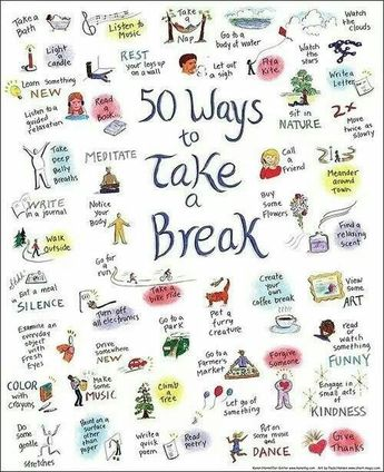 25 Things To Do When You're Feeling Down
