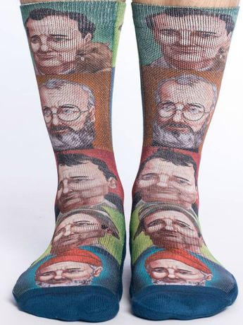 27ecc38f3 Fresh Collective  freshcollective · Bill Murray Print Socks - sz 8-13