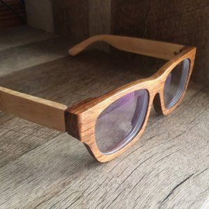 690a3ab20a5 10th Anniversary LOVE-WOOD zebra wood TAKEMOTO eyeglasses