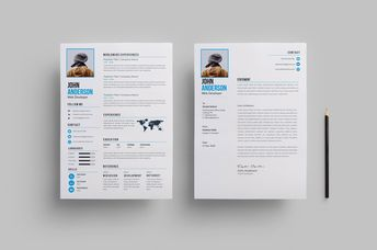 Clean Creative Resume Design 002758 - Template Catalog