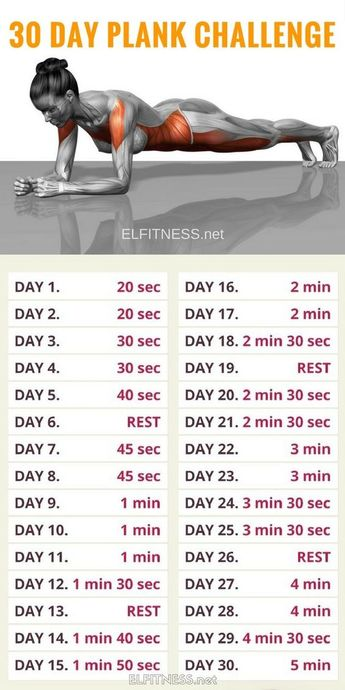 30 Day Plank Challenge and Here's What Happened!