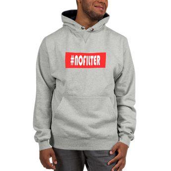 Hashtage NoFilter Hoodie (Champion)