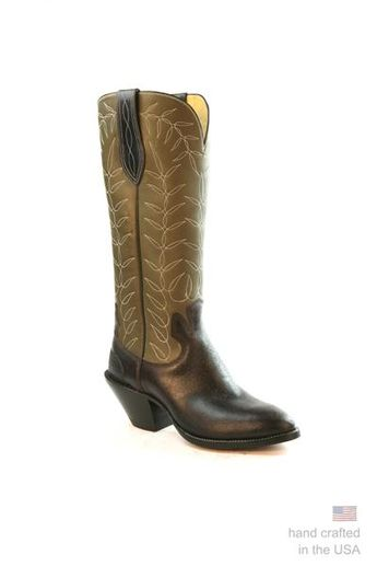a3c2bf4d083 Tan Lizard and Black Leather Western Cowgirl Boots by Larr