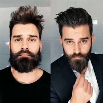 Follow @beardmankit for a daily dose of beard styles Daily Dose of beard style and men's grooming tips. Beards Bart Barbe Men Bearded Mustache Moustache Hair Style skæg Barba Sakal لحية Parta skägg