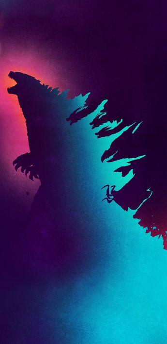 Godzilla (original by Pablo Iranzo) #MobileWallpaper #