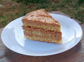 Gâteau yaourt pralin et ganache chocolat au lait Pralinoise - P'tit Sablé s'engourmandise !!!
