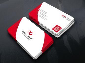 Corporate Company - Business Card Corporate Identity Template #69476