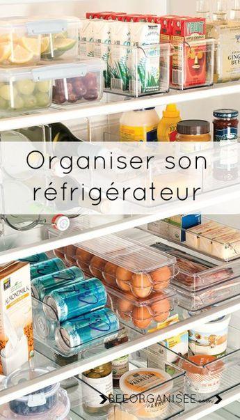 Ranger son réfrigérateur facilement en 7 étapes