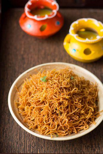 Aloo Bhujia Sev Recipe, How to make Aloo Bhujia Sev | Aloo Bhujia Namkeen