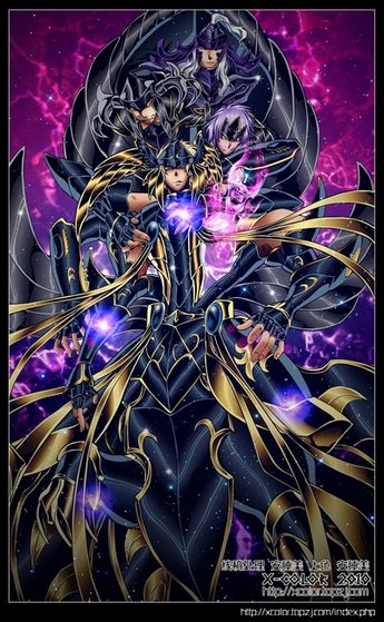 Saint Seiya Vilões The Lost Canvas