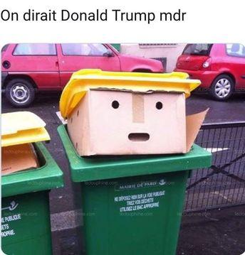 Poubelle Trump
