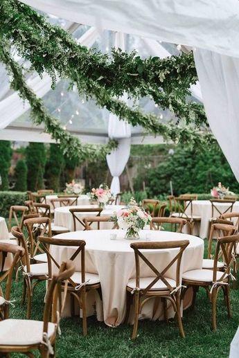 40+ Greenery Wedding Garland Decoration Ideas