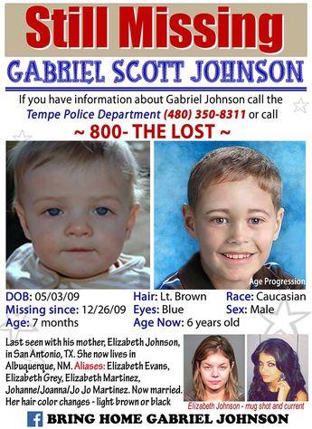 Find Missing Baby Gabriel Johnson!