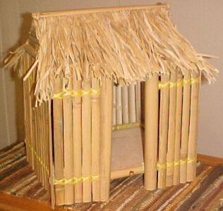 bamboo hut that is SO cute
