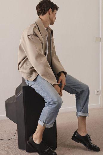 Sandro Spring 2018 Menswear Fashion Show - Sabrina Majeed - #Fashion #Majeed #menswear #Sabrina #Sandro #Show #Spring