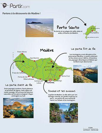 carte Madère région