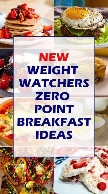 WW Freestyle Zero Point Breakfast Ideas