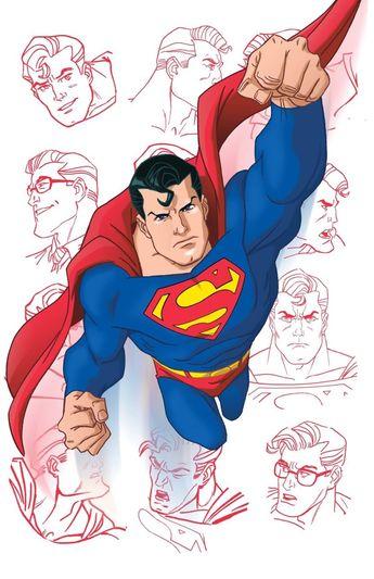 Superman by @stevenegordon.