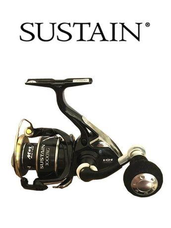 4ca4fe46440 SHIMANO SUSTAIN 3000XG Gear ratio 6.2:1 spinning fishing reel